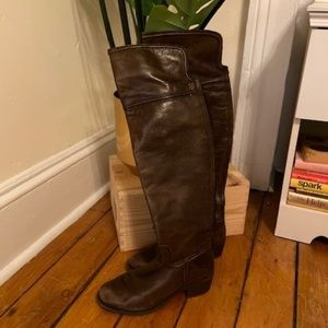 Vince Camuto Over-the-knee leather boot